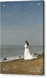 Bride By The Sea Acrylic Print