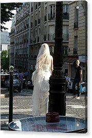 Bride Of Paris Acrylic Print