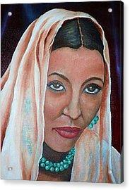 Brideprice Acrylic Print by Alima Newton