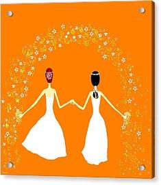 Brides Acrylic Print