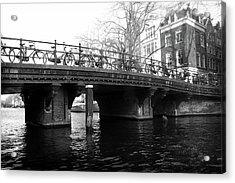 Acrylic Print featuring the photograph Bridge 5 by Scott Hovind