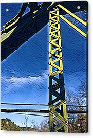 Bridge At Guerneville Acrylic Print