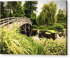 Bridge At Petersburg Acrylic Print