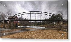 Bridge At The Mill Acrylic Print