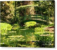 Bridge Acrylic Print by Elijah Knight