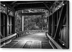 Bridge Exit Acrylic Print by Marvin Spates