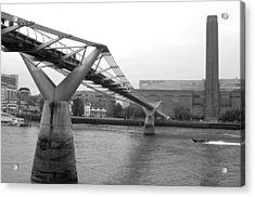 Bridge For You Acrylic Print by Jez C Self