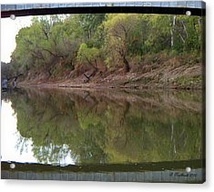 Acrylic Print featuring the photograph Bridge Frame by Betty Northcutt