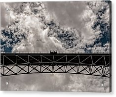 Bridge From Below Acrylic Print