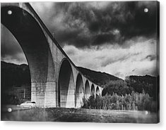 Acrylic Print featuring the photograph Bridge by Hayato Matsumoto