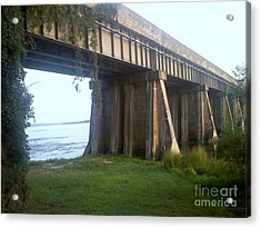 Bridge In Leesylvania Park Va Acrylic Print