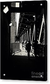 Bridge - Lower Lake Shore Drive At Navy Pier Chicago. Acrylic Print