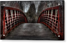 Acrylic Print featuring the photograph Bridge by Michaela Preston