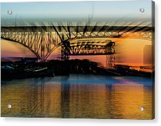 Bridge Motion Acrylic Print