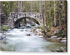 Bridge N Creek Acrylic Print by Rick Pham