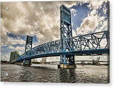 Bridge Of Blues Acrylic Print