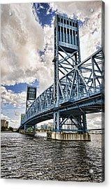 Bridge Of Blues II Acrylic Print
