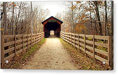 Bridge Of Dreams Acrylic Print by Robert Clayton