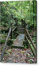 Bridge Of Dreams Acrylic Print by Walt Reece