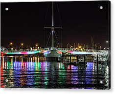 Bridge Of Lights Acrylic Print