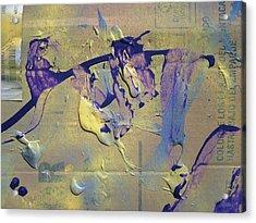 Bridge Of Old Hag Troll Acrylic Print by Bruce Combs - REACH BEYOND
