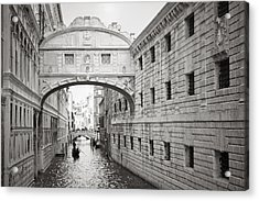 Bridge Of Sighs 5346-2 Acrylic Print