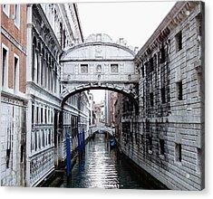 Bridge Of Sighs Acrylic Print