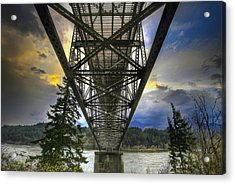 Bridge Of The Gods Acrylic Print