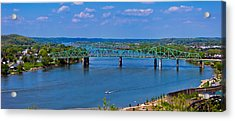 Bridge On The Ohio River Acrylic Print