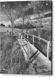 Bridge On The Prairie Acrylic Print