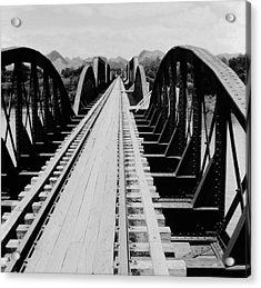 Bridge On The River Kwai Acrylic Print