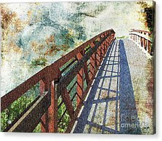 Bridge Over Clouds Acrylic Print