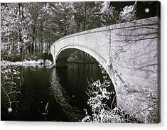 Acrylic Print featuring the photograph Bridge Over Infrared Waters by Brian Hale