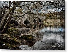 Bridge Over Llyn Padarn Acrylic Print