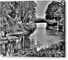 Bridge Over River Acrylic Print