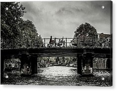 Bridge Over Still Water Acrylic Print