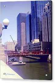 Bridge Overview Acrylic Print