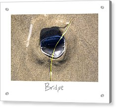 Bridge Acrylic Print by Peter Tellone