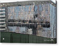 Bridge Reflections Acrylic Print by Andrea Simon