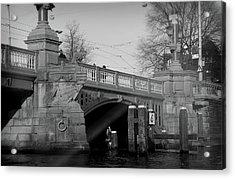 Acrylic Print featuring the photograph Bridge by Scott Hovind