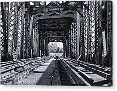 Bridge To No Where 2 Acrylic Print