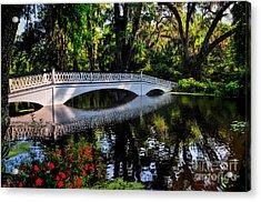 Bridge To Spring Acrylic Print