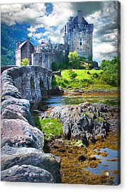 Bridge To The Castle Acrylic Print