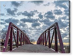 Bridge To The Clouds Acrylic Print