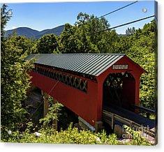 Bridge To The Mountains Acrylic Print