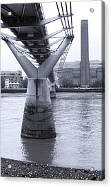 Bridge To The South Acrylic Print by Jez C Self