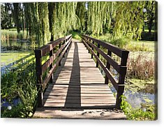 Bridge To Tranquillity Acrylic Print