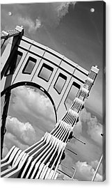 Bridge Top Pittsburgh Pa Acrylic Print by Kristen Vota