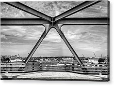 Bridge View In Portsmouth Nh Acrylic Print