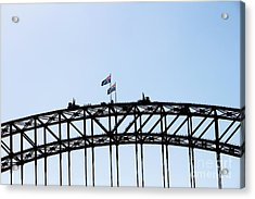 Acrylic Print featuring the photograph Bridge Walk by Stephen Mitchell